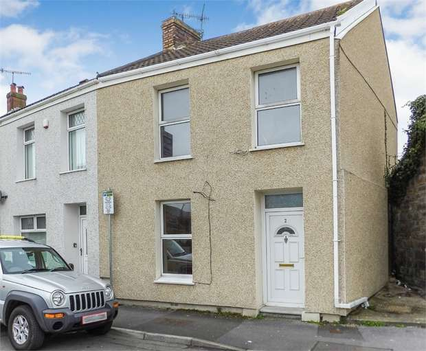 3 Bedrooms End Of Terrace House for sale in Inkerman Street, Llanelli, Carmarthenshire
