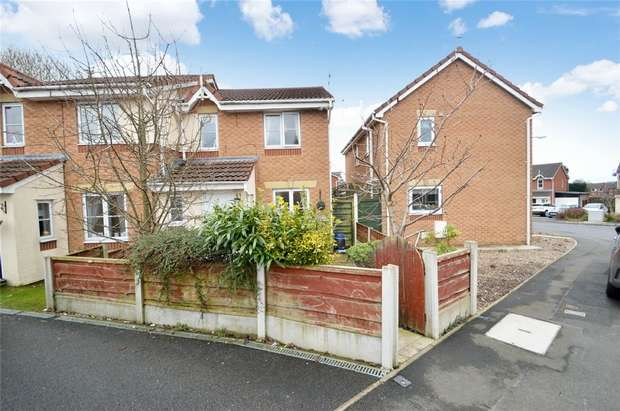 3 Bedrooms Semi Detached House for sale in Newsham Road, Cale Green, Stockport, Cheshire