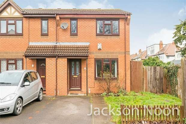 3 Bedrooms End Of Terrace House for sale in Chaffinch Close, Surbiton
