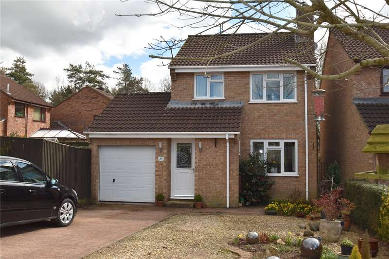 3 Bedrooms Detached House for sale in Bluebell Avenue, Tiverton, Devon, EX16
