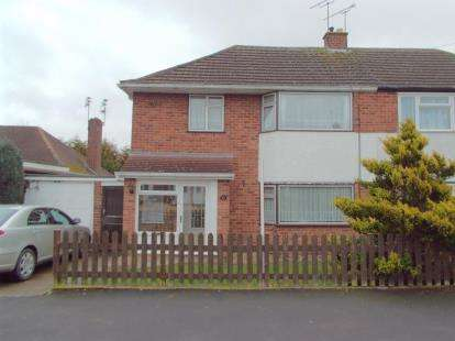 3 Bedrooms Semi Detached House for sale in Eastway Road, Wigston, Leicestershire