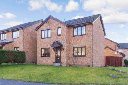 4 Bedrooms Detached House for sale in Ewing Court, Hamilton, South Lanarkshire
