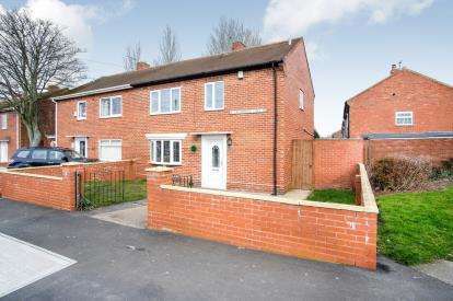 3 Bedrooms Semi Detached House for sale in Drummond Crescent, South Shields, Tyne and Wear, NE34