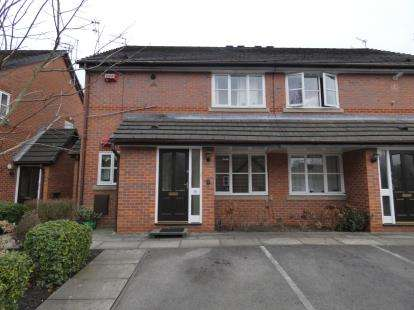 2 Bedrooms Flat for sale in Anchorside Close, Manchester, Greater Manchester
