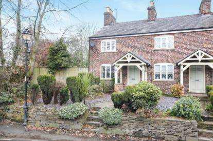 2 Bedrooms End Of Terrace House for sale in Old Hall Cottage, Hall Lane, Mobberley, Knutsford
