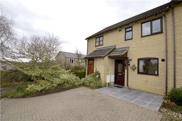 2 Bedrooms Terraced House for sale in Carters Way, Nailsworth, Gloucestershire, GL6 0TP