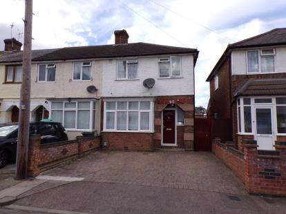 3 Bedrooms End Of Terrace House for sale in Hazelwood Road, Bedford, Bedfordshire