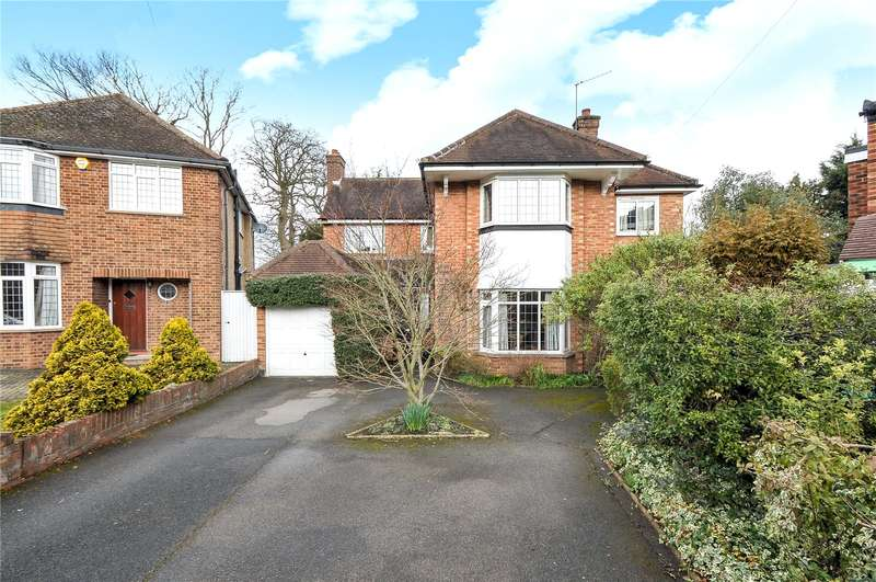 4 Bedrooms Detached House for sale in Anglesmede Way, Pinner, HA5