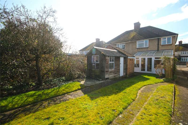 3 Bedrooms Semi Detached House for sale in Shakespeare Road, Addlestone, Surrey, KT15