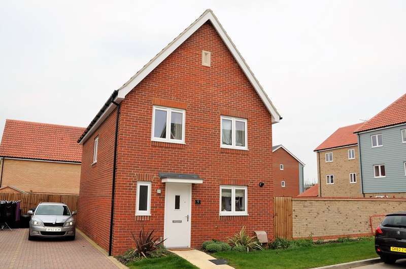 4 Bedrooms Detached House for rent in Pennywort, Soham, Ely, CB7