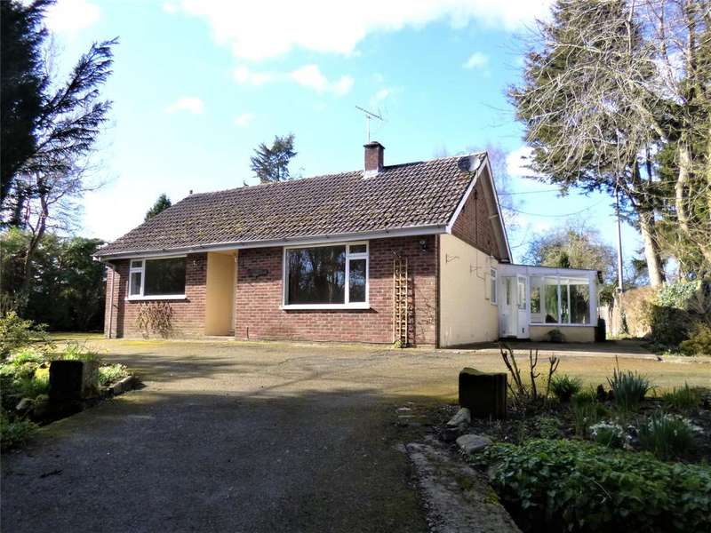 3 Bedrooms Detached Bungalow for sale in Millbrook Way, Orleton, Ludlow, Shropshire