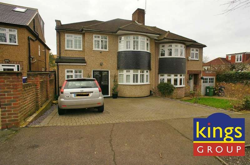 4 Bedrooms Semi Detached House for sale in Harford Road, London
