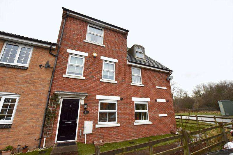 4 Bedrooms Terraced House for sale in Roman Road, Corby