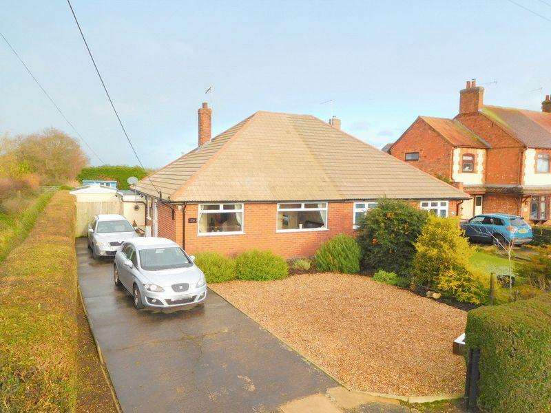 2 Bedrooms Semi Detached Bungalow for sale in Weston Lane, Basford