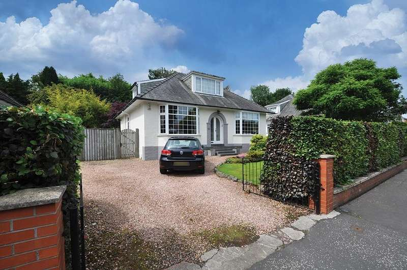 4 Bedrooms Detached Bungalow for sale in Broomvale Drive, Newton Mearns, Glasgow, G77