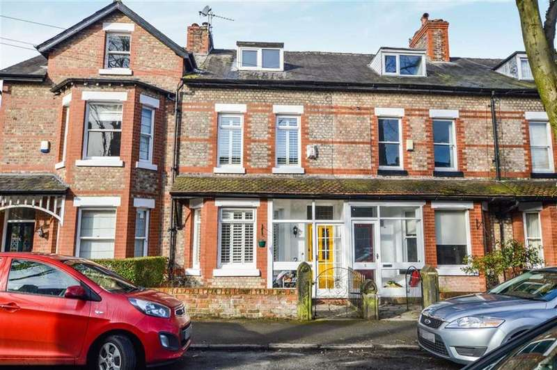 4 Bedrooms Terraced House for sale in Beech Road, Hale, Cheshire, WA15