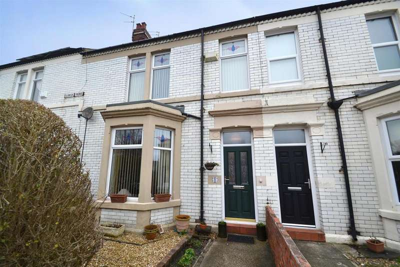 3 Bedrooms End Of Terrace House for sale in Alnwick Avenue, Whitley Bay