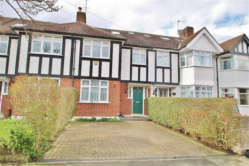 5 Bedrooms Terraced House for sale in Hartland Way, Morden, SM4