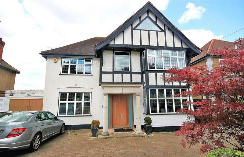 4 Bedrooms Detached House for sale in Belmont Avenue, Cockfosters, Barnet