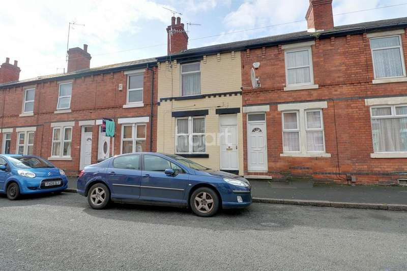 2 Bedrooms Terraced House for sale in Hazelwood Road, Hyson Green