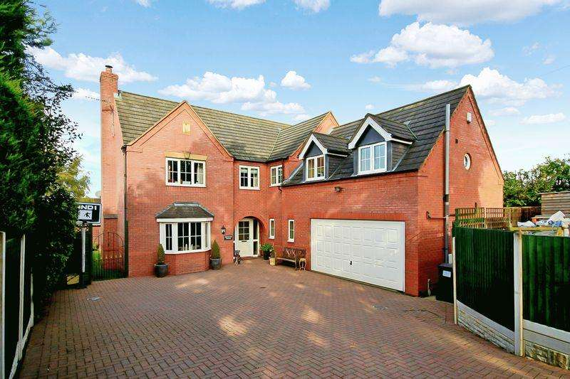 5 Bedrooms Detached House for sale in Newcastle Road, Loggerheads, Market Drayton