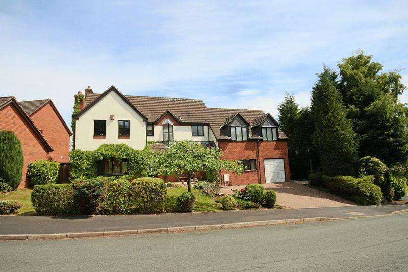 4 Bedrooms Detached House for sale in Parkwood Drive, Baldwins Gate, Newcastle-Under-Lyme