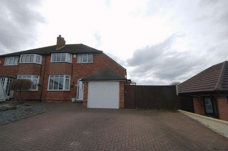 3 Bedrooms Semi Detached House for sale in The Greenway, Sutton Coldfield, West Midlands