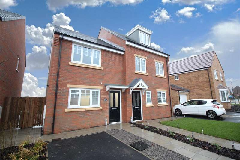 2 Bedrooms Semi Detached House for rent in Hall Drive, Newcastle Upon Tyne