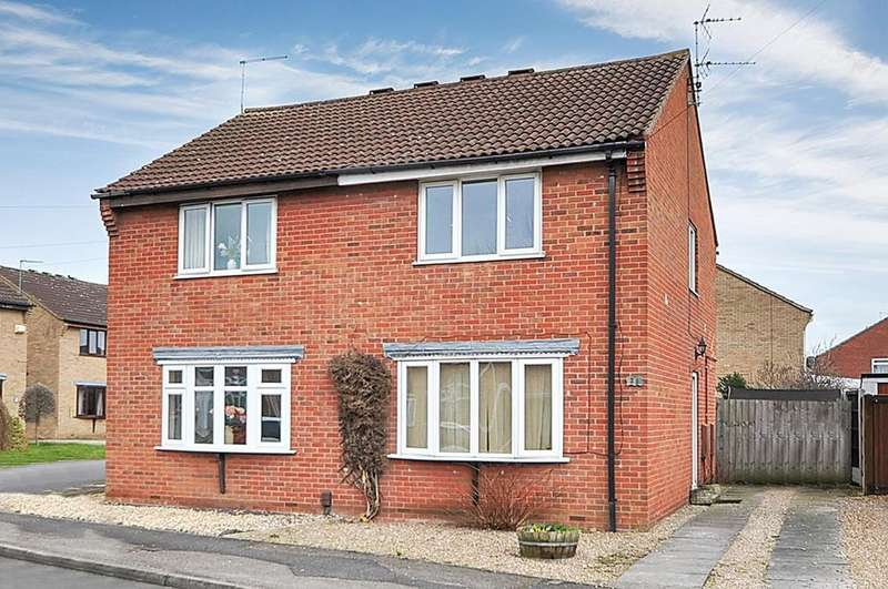 2 Bedrooms Semi Detached House for sale in Birch Road, New Balderton, Newark