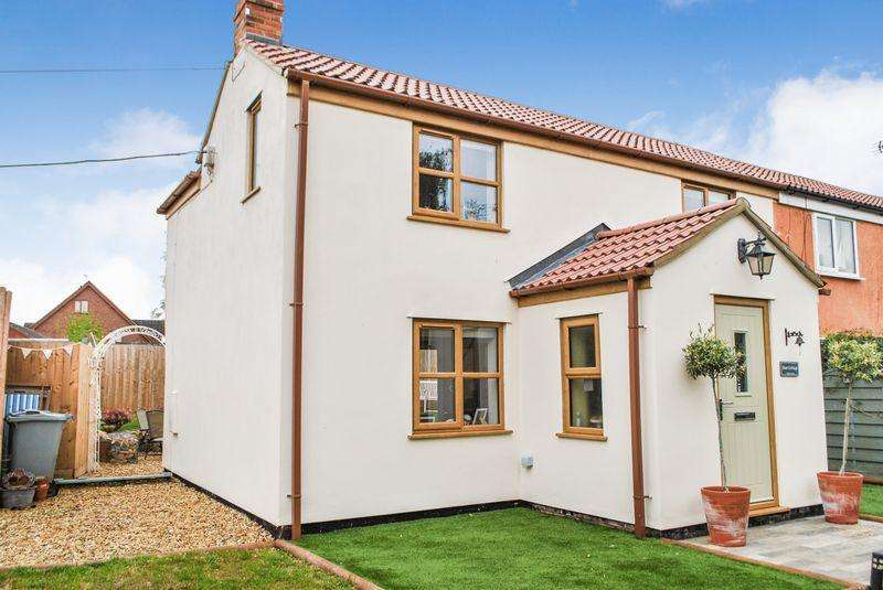 2 Bedrooms Semi Detached House for sale in Main Street, Bourne
