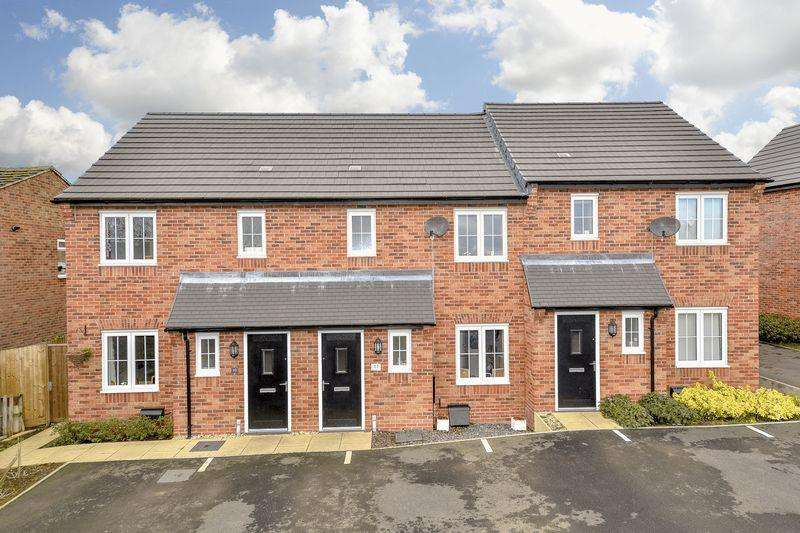 3 Bedrooms Terraced House for sale in Centenary Close, Market Harborough