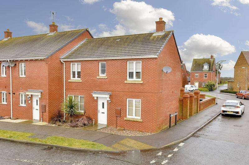3 Bedrooms Semi Detached House for sale in Thistle Drive, Kettering
