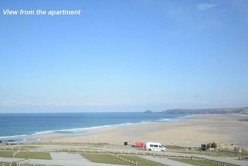 2 Bedrooms Apartment Flat for sale in Perranporth, Nr. Truro, Cornwall, TR6