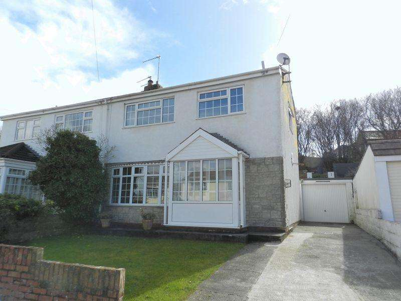 3 Bedrooms Semi Detached House for sale in Heol-y-Bardd Bridgend CF31 4TB