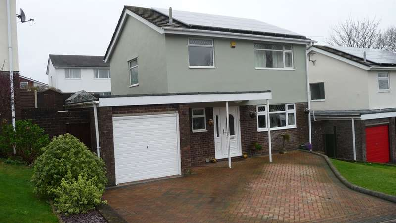 3 Bedrooms Detached House for sale in Bedford Close, Greenmeadow, Cwmbran