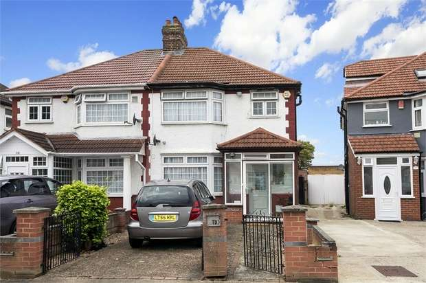 3 Bedrooms Semi Detached House for sale in Cardington Square, Hounslow, Middlesex