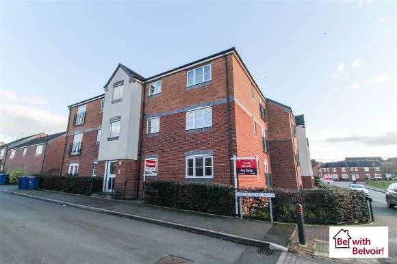 2 Bedrooms Flat for sale in Capercaillie Drive, Cannock