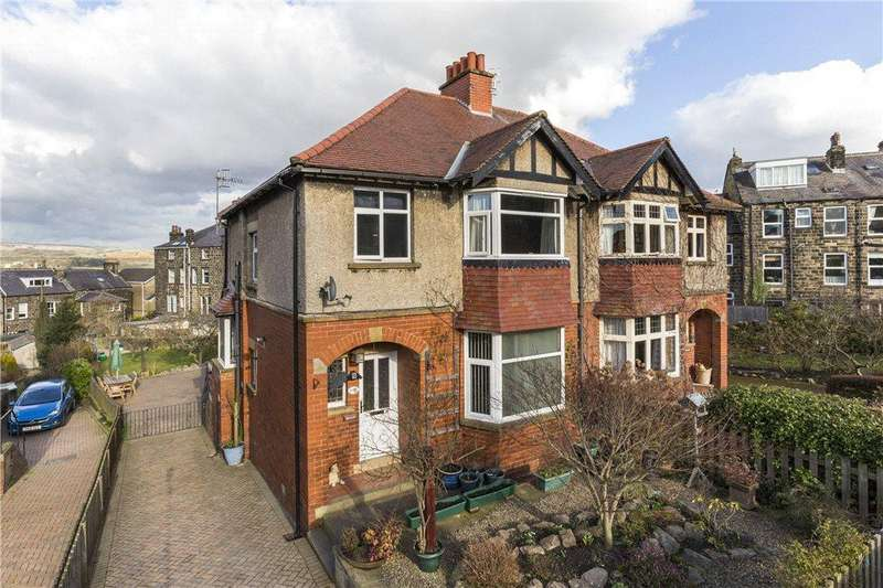 3 Bedrooms Semi Detached House for sale in Cowpasture Road, Ilkley, West Yorkshire