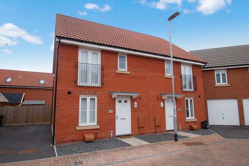 3 Bedrooms Semi Detached House for sale in Peploe Way
