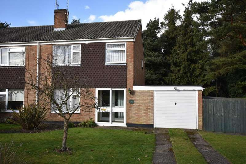 3 Bedrooms Semi Detached House for sale in Mouse Lane, Rougham