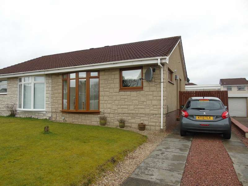 2 Bedrooms Semi Detached Bungalow for sale in St Boswells Drive, Carnbroe, Coatbridge, North Lanarkshire, ML5