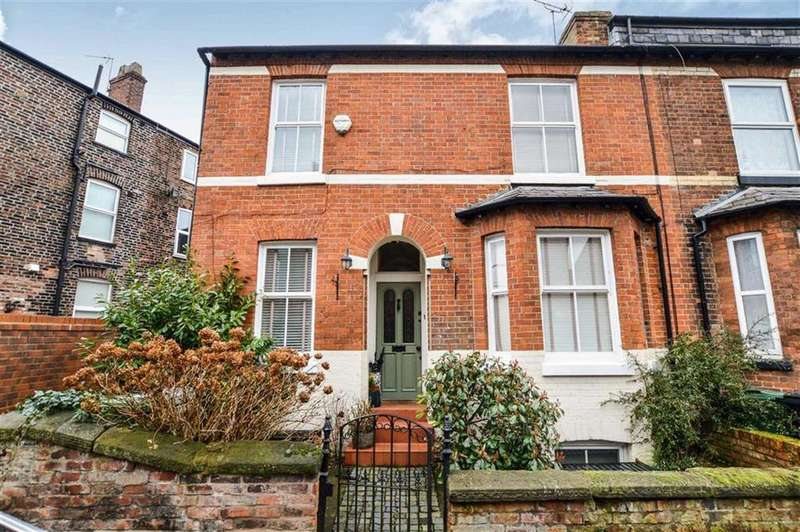 3 Bedrooms End Of Terrace House for sale in Byrom Street, Hale, Cheshire, WA14