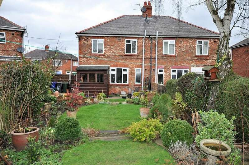 3 Bedrooms Semi Detached House for sale in Highfield Crescent, Thorne, Doncaster