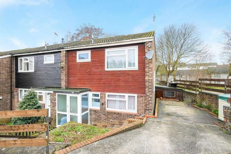 3 Bedrooms End Of Terrace House for sale in Chesterton Close, Ipswich