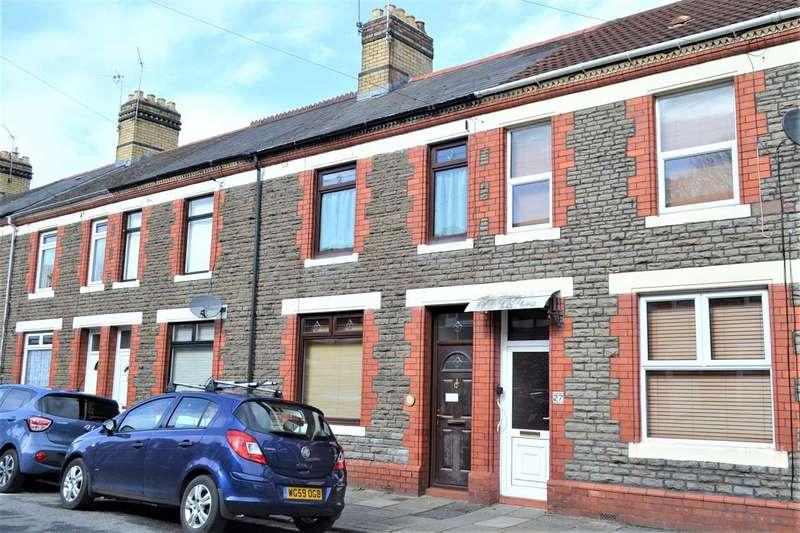 2 Bedrooms Terraced House for sale in TALYGARN STREET, HEATH, CARDIFF