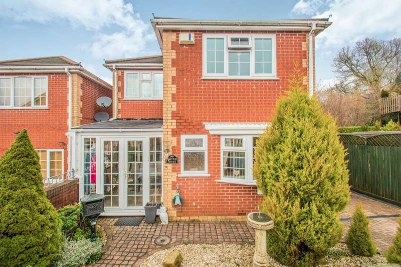 4 Bedrooms Detached House for sale in Glendale Gardens, Fleur De Lis, Blackwood