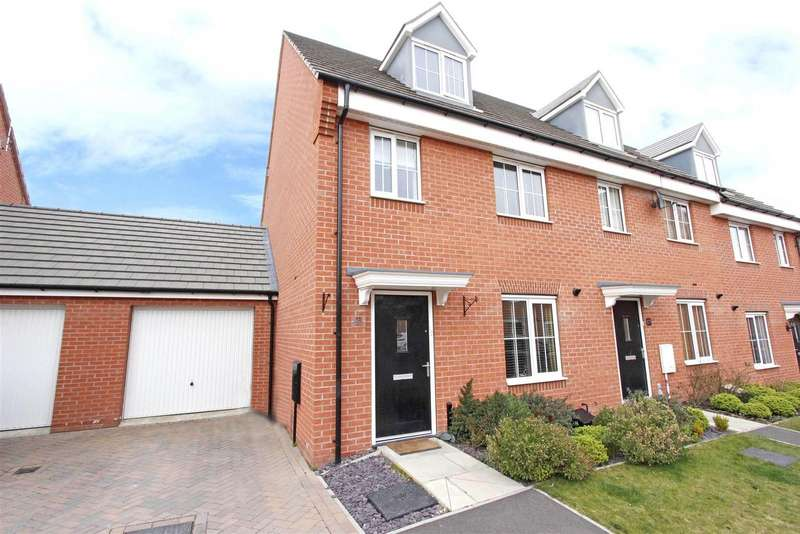 3 Bedrooms Terraced House for sale in Hexham Avenue, Bourne