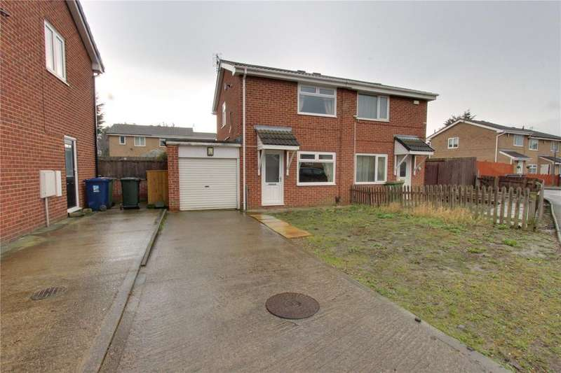2 Bedrooms Semi Detached House for sale in Briggs Avenue, South Bank