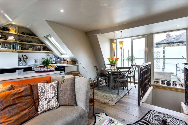 3 Bedrooms Maisonette Flat for sale in Castletown Road, London, W14