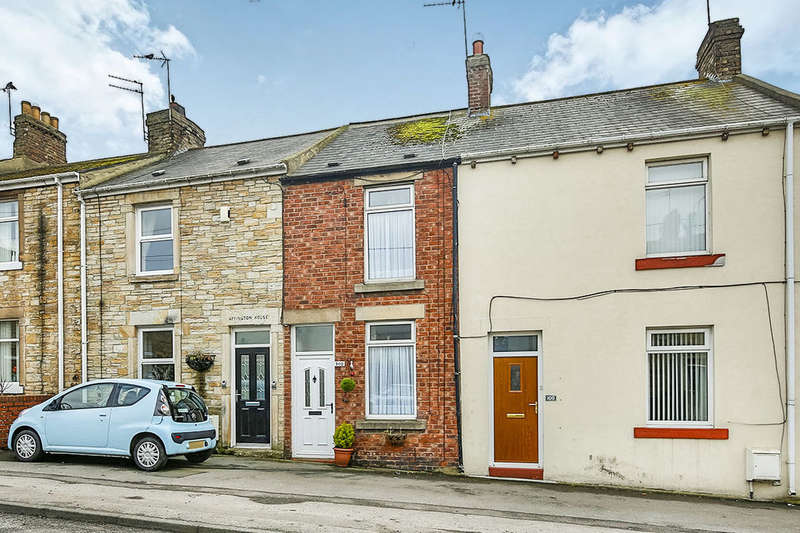 2 Bedrooms Terraced House for sale in Durham Road, Blackhill, Consett, DH8
